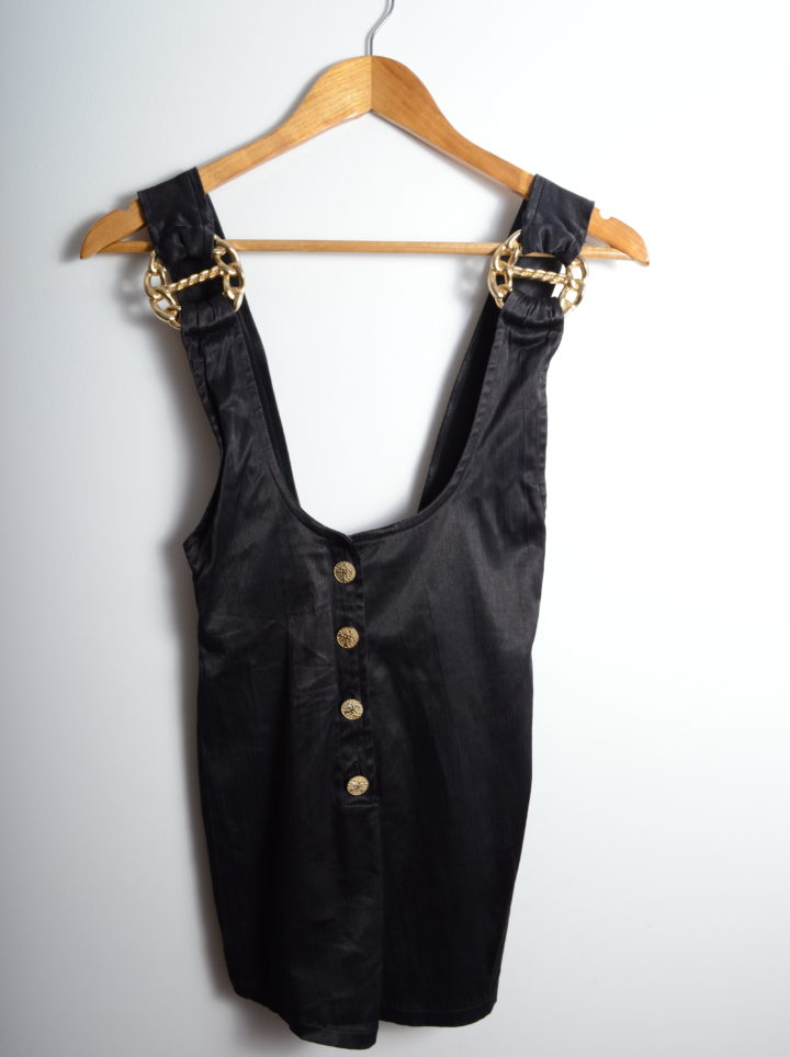 Black Vintage Playsuit
